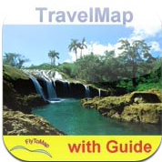 Cuba Travel Map Navigator App