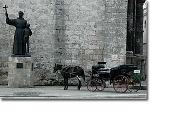 Horse drawn carriage Havana Vieja