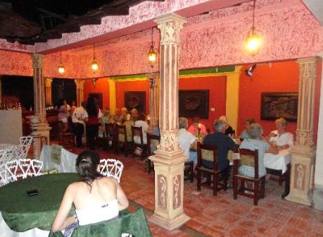 Paladar Davimart Trinidad Cuba