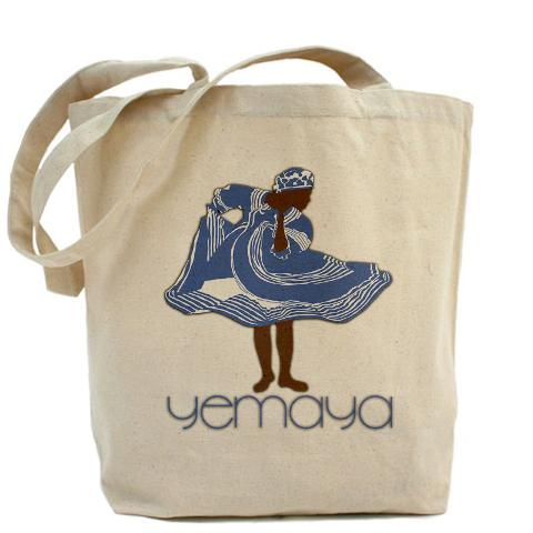 Yemaya Beach Tote Bag